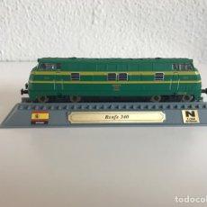 Modelos a escala: LOCOMOTORA TREN ESPAÑOL TALGO 340. Lote 74085225