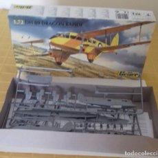 Modelos a escala: DH 89 DRAGON RAPIDE KIT DE MONTAR. Lote 74263839