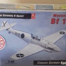 Modelos a escala: MEESERSCHMITT BF 109 B. KIT DE MONTAJE. Lote 74264747