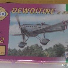 Modelos a escala: DEWOITINE D 500/501 KIT DE MONTAJE. Lote 74268223