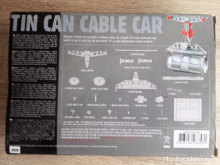 Modelos a escala: Tin Can Cable Car 4M - Teleférico de Hojalata - Foto 2 - 95456923