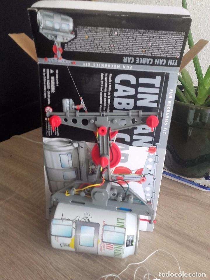 Modelos a escala: Tin Can Cable Car 4M - Teleférico de Hojalata - Foto 4 - 95456923