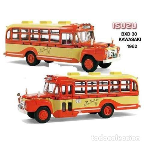 autobús clásico isuzu bxd 30 (japón) - 1:43 - kaufen maßstabsgetreue