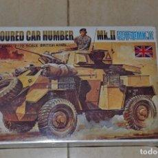 Modelos a escala: MAQUETA ARMOURED CAR HUMBER . Lote 91999110