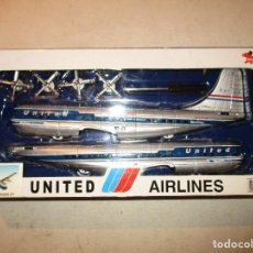 Modelos a escala: AVION DE UNITED AIRLINES-BOEING STRATOCRUISER 377-HOBBY DAX. Lote 93560055