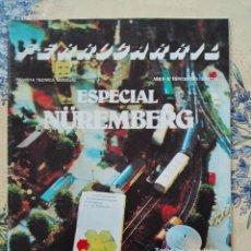 Modelos a escala: REVISTA FERROCARRIL 1981 - ESPECIAL FERIA NUREMBERG / ALEMANIA - TRENES -200GR -PLO. Lote 96187363