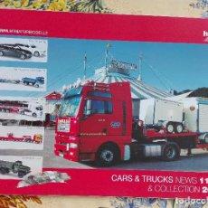 Modelos a escala: CATALOGO HERPA - NEWS 11-12 & COLLECTION 2012 - AUTOMOVIL -200GR. Lote 96190991
