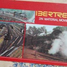 Modelos a escala: CATALOGO IBERTREN-3N - IX-1977 - TREN FERROCARRIL - 50GR -PLO. Lote 96192099