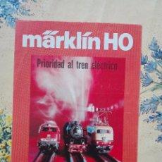 Modelos a escala: FOLLETO MARKLIN 1979 - CAJAS INICIACION CIRCUITOS - 2 HOJAS - TREN FERROCARRIL -PLO. Lote 96192247