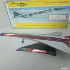 Modelos a escala: CONCORDE AERO MARCA PILEN CON PEANA. Lote 96527571