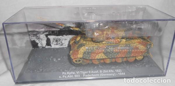 PANZER KPFW. VI TIGER II AUSF. B, ESCALA 1/72, DE ALTAYA (Juguetes - Modelos a escala)