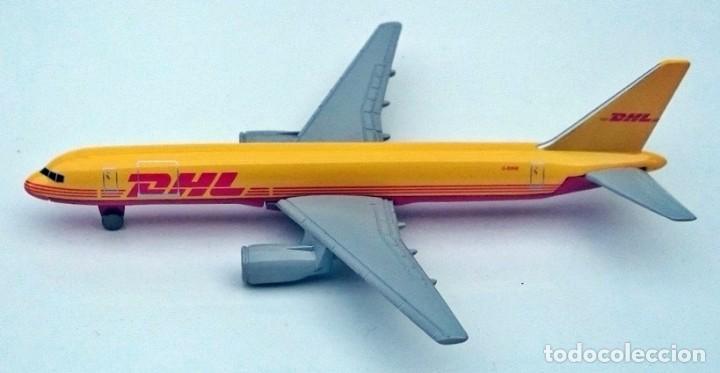 Modelos a escala: DHL PUBLICIDAD ORIGINAL - BOEING 757 AVIÓN DE CARGA - OBSOLETO - Foto 5 - 98165671