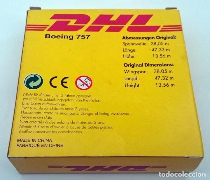 Modelos a escala: DHL PUBLICIDAD ORIGINAL - BOEING 757 AVIÓN DE CARGA - OBSOLETO - Foto 7 - 98165671