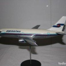 Modelos a escala: MAQUETA AVIÓN BOEING 737-200 SPANTAX -RESTAURADO-. Lote 98887659