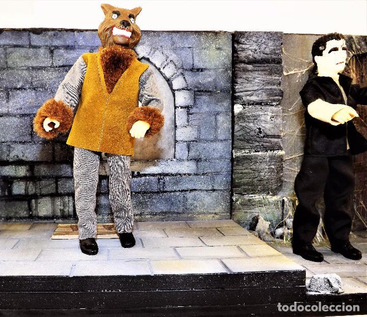 Modelos a escala: Madelmania y Obradoiro Diorama monstruos del cine (Pieza única) - Foto 3 - 99427435