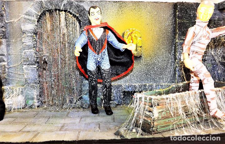 Modelos a escala: Madelmania y Obradoiro Diorama monstruos del cine (Pieza única) - Foto 5 - 99427435