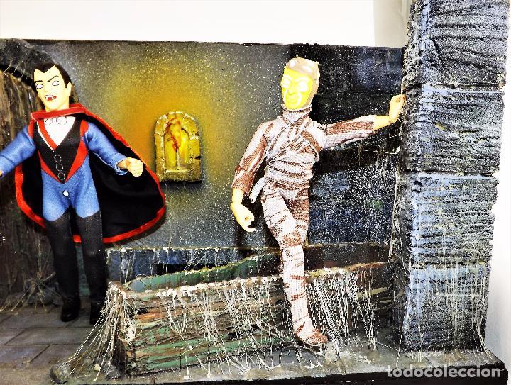 Modelos a escala: Madelmania y Obradoiro Diorama monstruos del cine (Pieza única) - Foto 6 - 99427435