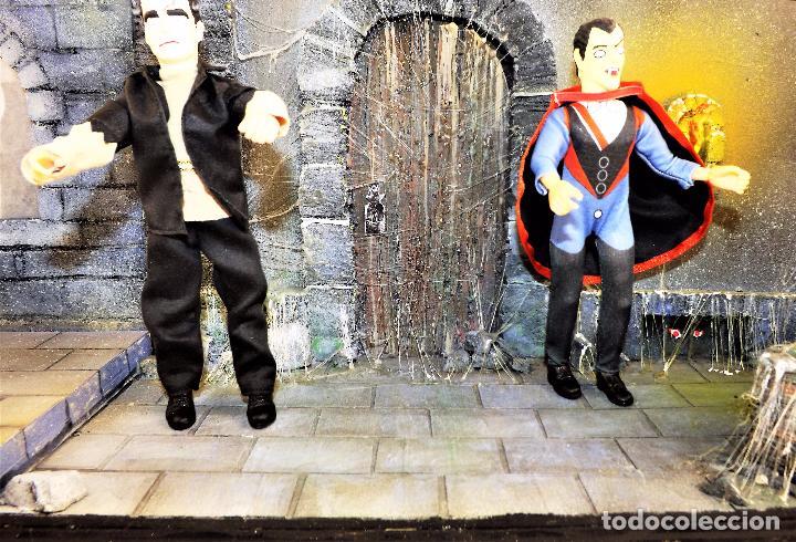 Modelos a escala: Madelmania y Obradoiro Diorama monstruos del cine (Pieza única) - Foto 9 - 99427435