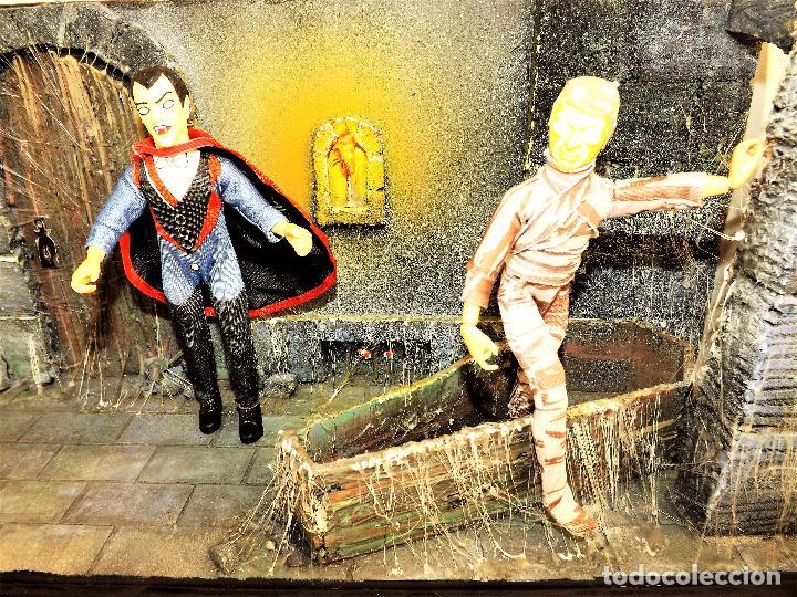 Modelos a escala: Madelmania y Obradoiro Diorama monstruos del cine (Pieza única) - Foto 10 - 99427435