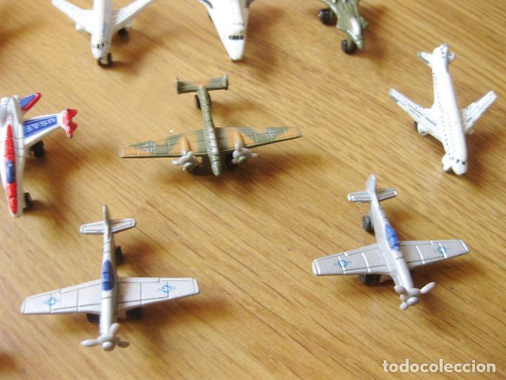 Modelos a escala: LOTE DE 21 AVIONES METÁLICOS A PEQUEÑA ESCALA CON SUS NOMBRES - MADE IN CHINA - AÑOS 90 - Foto 8 - 100020775
