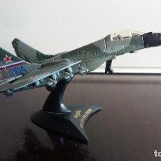 Modelos a escala: MAQUETA DEL AVION MIG-29 FULCRUM. Lote 101612559