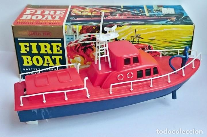 Modelos a escala: EMBARCACIÓN BOMBEROS - FIRE BOAT - LAURIE TOYS - Foto 2 - 101650115