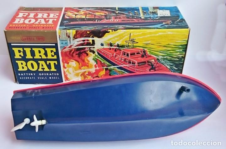 Modelos a escala: EMBARCACIÓN BOMBEROS - FIRE BOAT - LAURIE TOYS - Foto 3 - 101650115