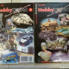 Modelos a escala: DOS REVISTAS HOBBYWORLD, PINTURA Y MODELISMO. Lote 110609140