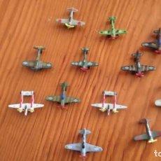 Modelos a escala: LOTE DE 12 AVIONES METÁLICOS A PEQUEÑA ESCALA - MADE IN CHINA - AÑOS 90. Lote 111338207
