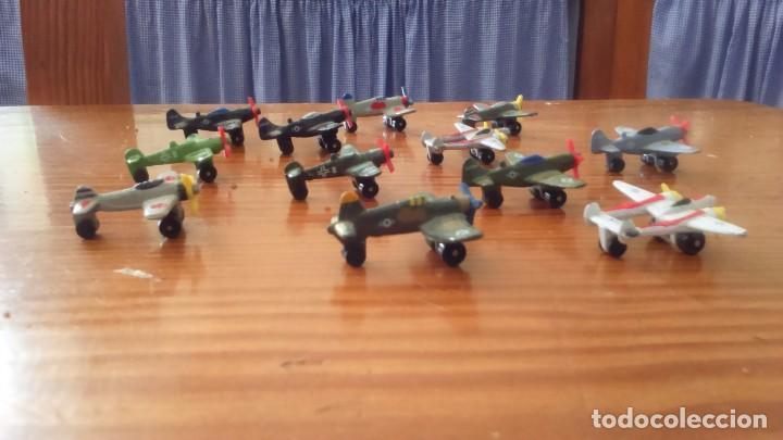 Modelos a escala: LOTE DE 12 AVIONES METÁLICOS A PEQUEÑA ESCALA - MADE IN CHINA - AÑOS 90 - Foto 3 - 111338207