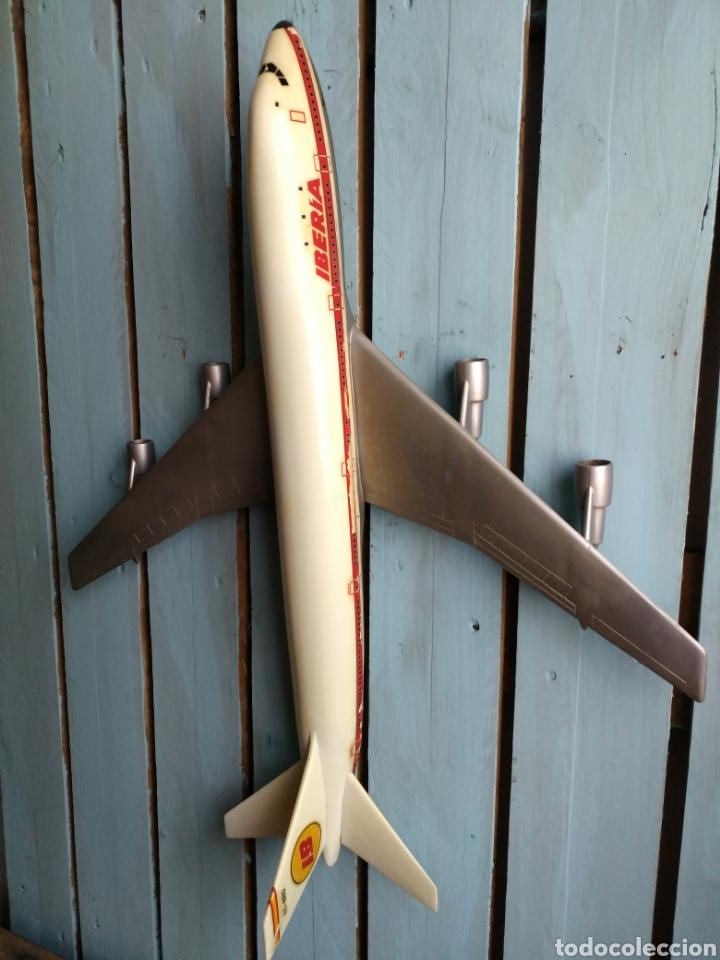 Modelos a escala: Antigua y gran maqueta Iberia, Avión Boeing 747Jumbo Pumersa - Foto 4 - 111455559
