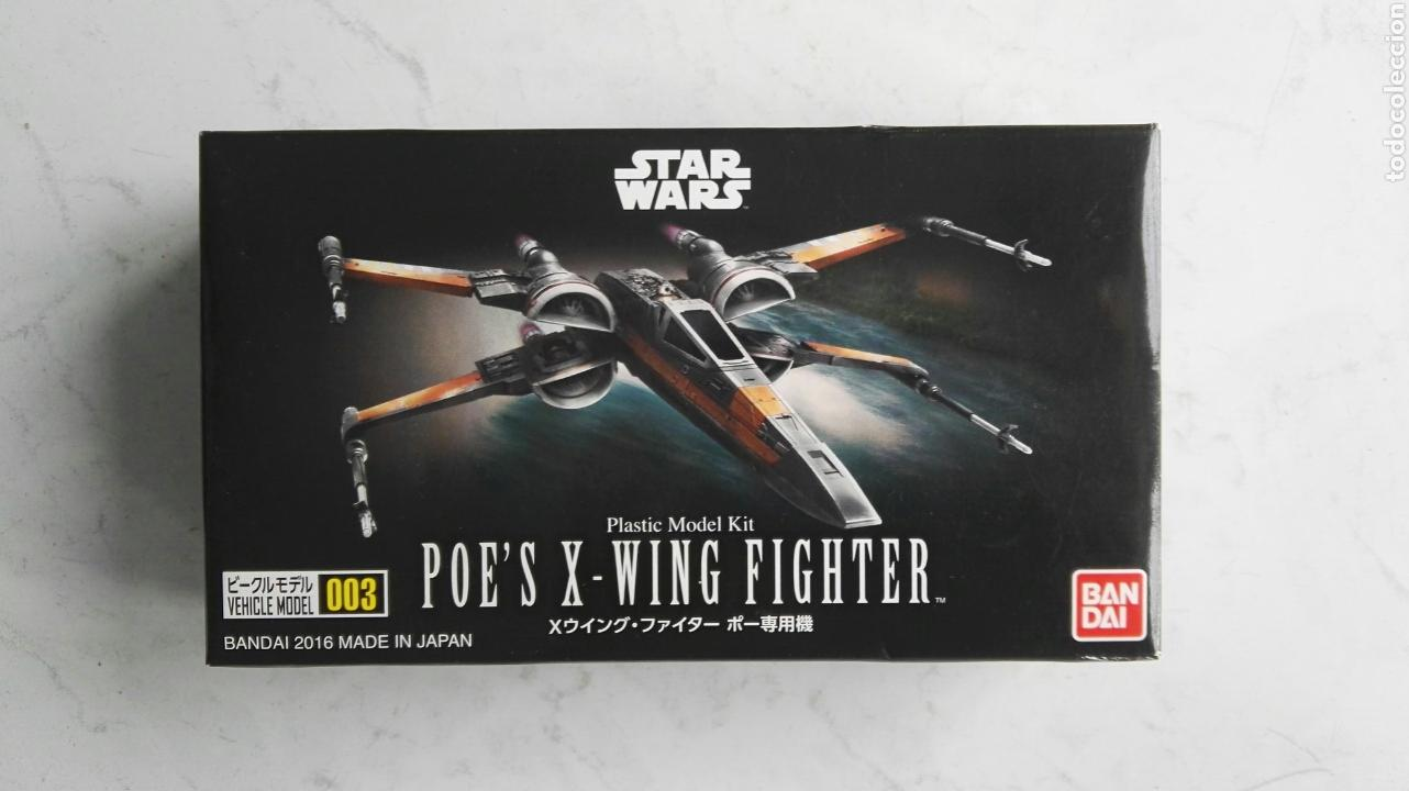 Modelos a escala: Star wars nave poe's x-wing fighter bandai 2016 - Foto 1 - 111555482
