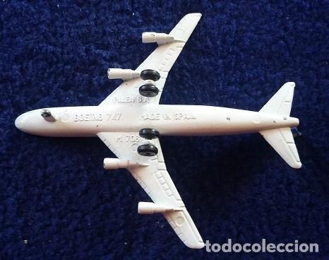 Modelos a escala: Boeing 747 Pilen serie aviones modelo 706 años 70 - Foto 4 - 111681359