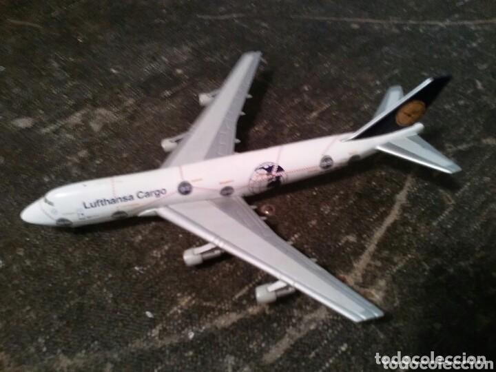 AVIÓN BOEING 747-200 ÁFRICA. CUATRIMOTOR. LUFTHANSA CARGO (Juguetes - Modelos a escala)