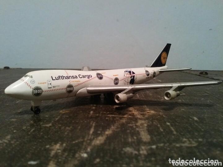 Modelos a escala: AVIÓN BOEING 747-200 ÁFRICA. CUATRIMOTOR. LUFTHANSA CARGO - Foto 2 - 114089788