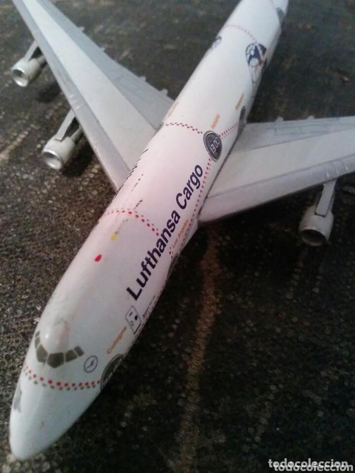Modelos a escala: AVIÓN BOEING 747-200 ÁFRICA. CUATRIMOTOR. LUFTHANSA CARGO - Foto 5 - 114089788