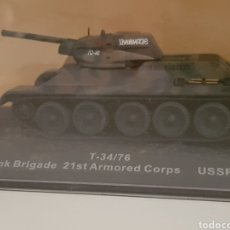 Modelos a escala: TANQUE USSR T34/76 SIN ABRIR. Lote 112449827