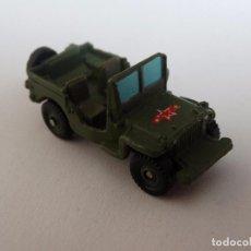 Modelos a escala: MICRO MACHINES JEEP WWII. Lote 113206399