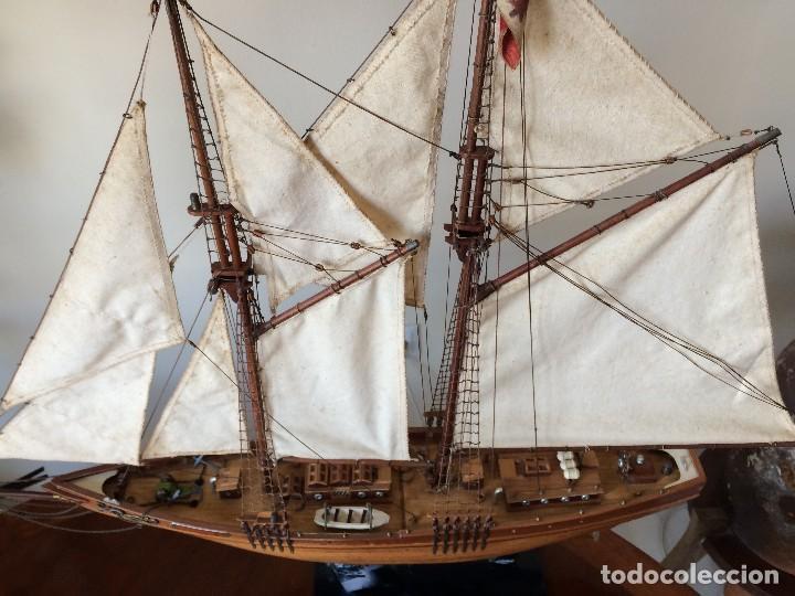 Modelos a escala: Maqueta barco de vela goleta Bluenose - Foto 2 - 117578775