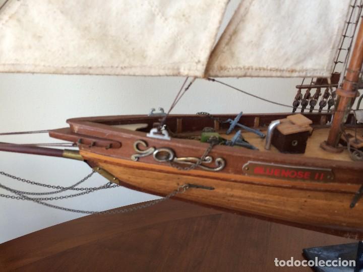 Modelos a escala: Maqueta barco de vela goleta Bluenose - Foto 3 - 117578775