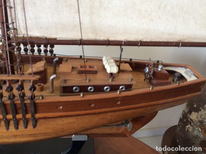 Modelos a escala: Maqueta barco de vela goleta Bluenose - Foto 5 - 117578775