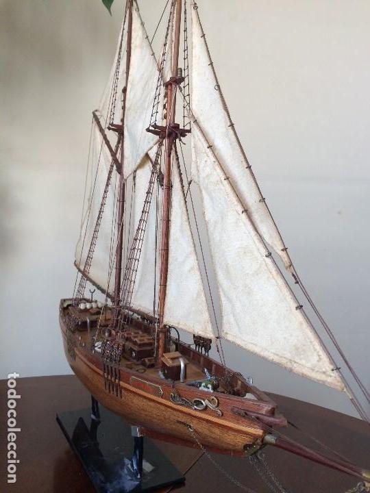 Modelos a escala: Maqueta barco de vela goleta Bluenose - Foto 6 - 117578775