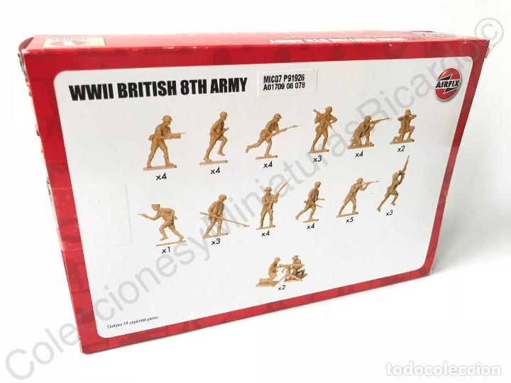 Modelos a escala: Figuras de militares ingleses de la Segunda Guerra Mundial - 1:72 - tropa,ejército,WWII, airfix - Foto 2 - 117712603
