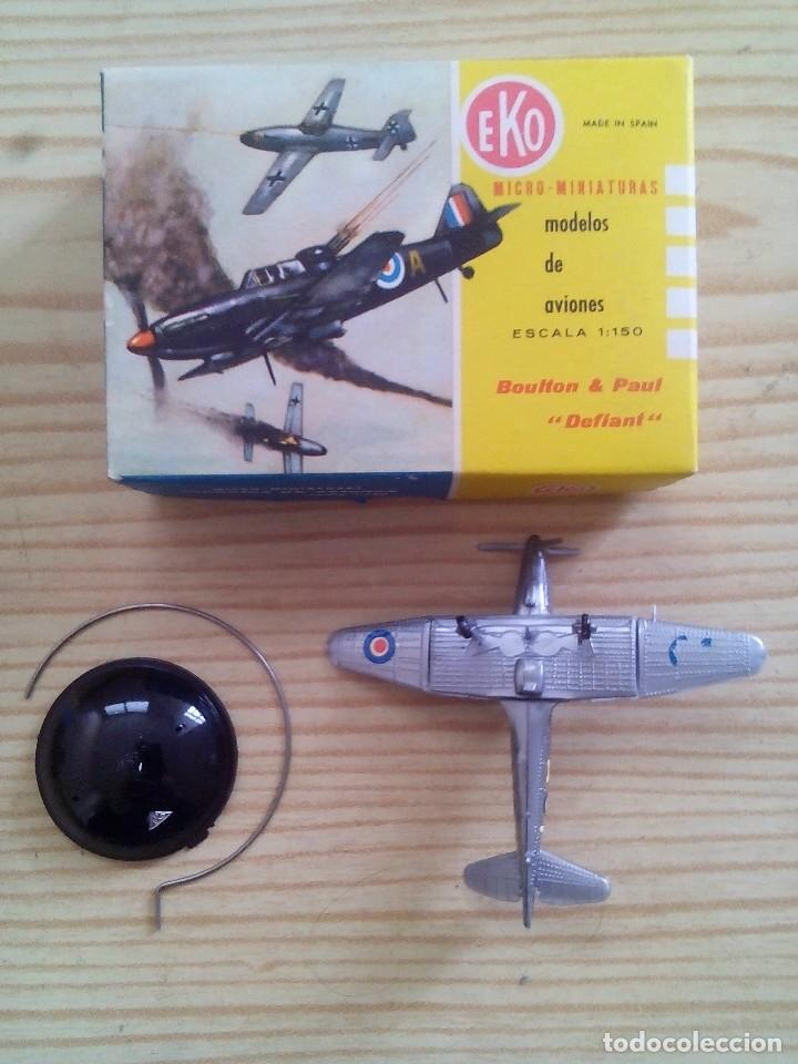 Modelos a escala: Eko Aviones - Boulton & Paul Defiant Con Caja - Lote 3 - Foto 2 - 117871599