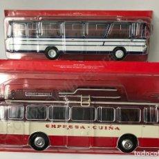Modelos a escala - Lote 2 Autocar Barreiros AEC y Pegaso (1:43) Transporte público, buses, autobuses, autobús, bus, ixo - 143804498