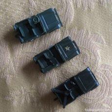 Modelos a escala: 3 COCHES MILITARES MICRO MINIATURAS EKO ESCALA H0 MADE IN SPAIN. Lote 120325856