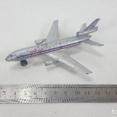 Modelos a escala: AVION DE METAL A ESCALA SB13 DC10 - MATCHBOX - 1973. Lote 120817579