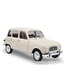 Modelos a escala: RENAULT 4 DE 1964. COCHE CLÁSICO ESPAÑOL (ESCALA 1:24) COCHES INOLVIDABLES. Lote 112511555