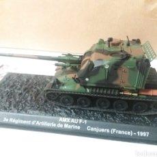 Modelos a escala: MINIATURA TANQUE AMX AU F-1 FRANCE 1997. Lote 123771764