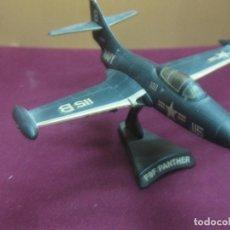 Modelos a escala: AVION DE COMBATE F9F PANTHER. METAL.. Lote 125894427